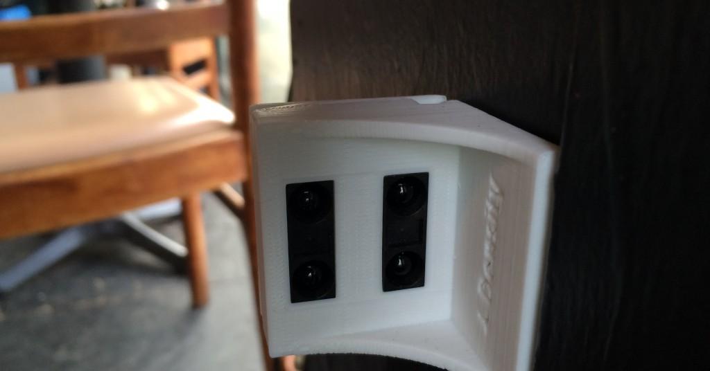 HIgh-tech infrared sensors located inside a Portland, Oregon cafe.