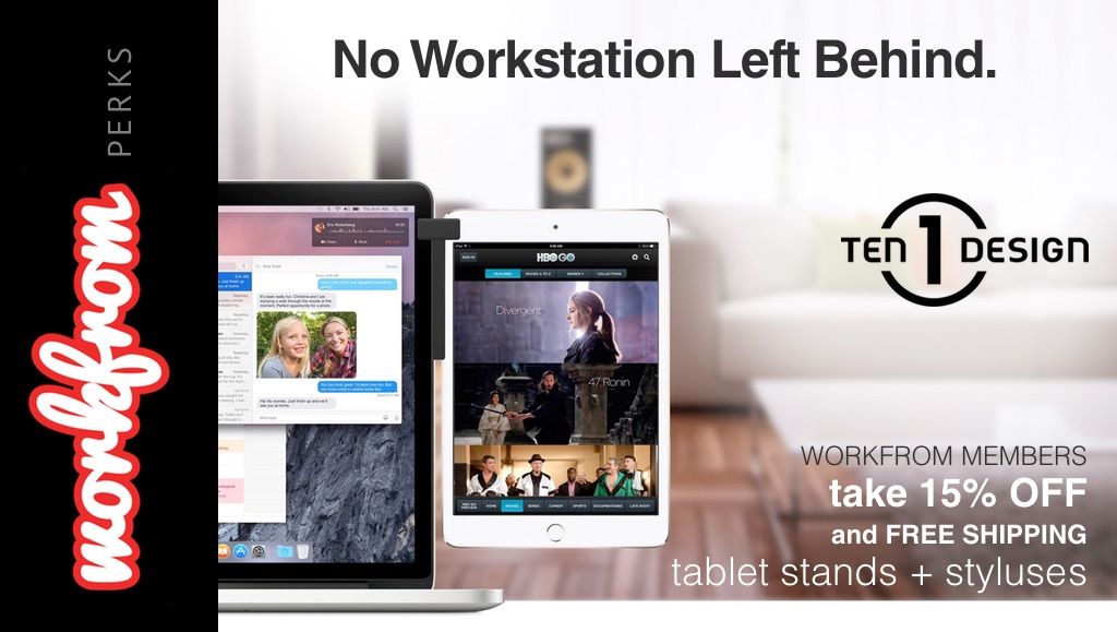 Mobile Workspaces you can Carry: Ten One Design + Workfrom