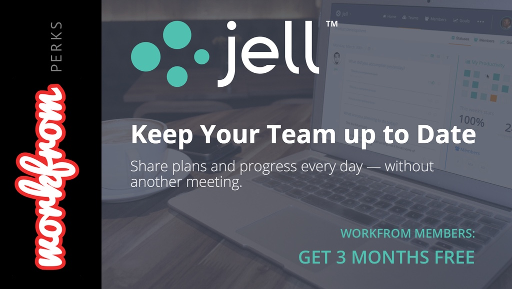 Keep Your Team up to Date without another Meeting: Jell