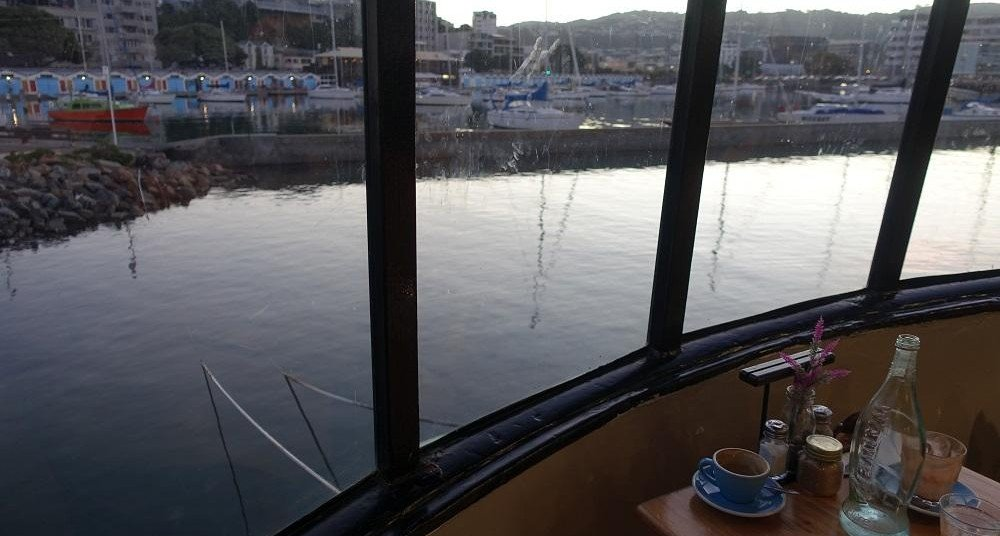 Photo of the Boat Cafe in Wellington, New Zealand